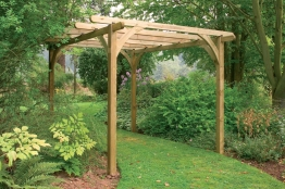 Pressure Treated Timber Ultima Pergola Kit 2700mm X 2700mm