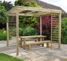 Pressure Treated Timber Dining Pergola