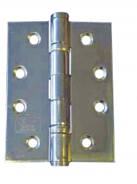 4trade Hinge 2 Ball Bearing Polished Stainless Steel Pack 1 2mm X 50mm X 75mm Pack Of 1