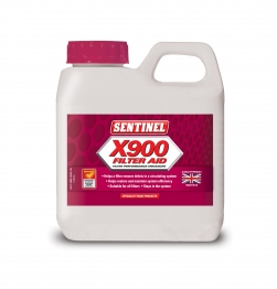 Sentinel X 900 Filter Performance Aid Liquid 500ml