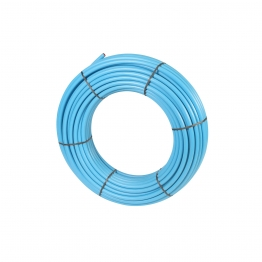 Wavin Mdpe 20pw100 Pipe Coil 20mm X 100m Blue