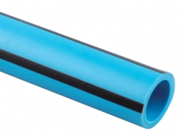 Wavin 50mm X 25 Pe80 Blue 50pw025