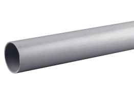 Osmaweld Waste Grey Plain Ended Pipe 4m 40mm
