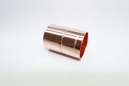 Jw Copper Endfeed Straight Coupling 35mm