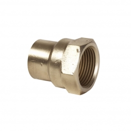 Conex Tp2 Solder Ring Straight Female Connector 22mm X 3/4in