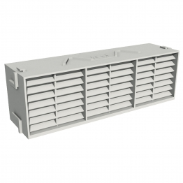 Manthorpe Combination Airbrick White 9in X 3in
