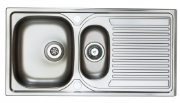 Aegean 1.5b Stainless Steel Inset Sink