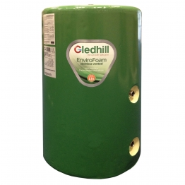 Gledhill Se48x18ind Indirect Envirofoam Lagged Steel Cylinder 162l 1200mm X 450mm