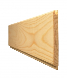 Tongue And Grooved V Jointed Matchboard Redwood Standard 25mm X 125mm (finished Size 20.5mm X 119mm)