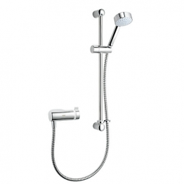 Mira Agile With Exposed Valve And Adjustable Fittings Chrome Finish S Eco Ev