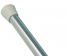 Iflo Telescopic Shower Rail Anodised Shower Accessory