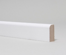 Mdf Moulded & Primed Pencil Round Architrave 18mm X 69mm X 4.4m