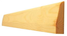 Architrave Chamfered & Round Best Patt 628 19mm X 50mm Finished Size 14.5mm X 44mm