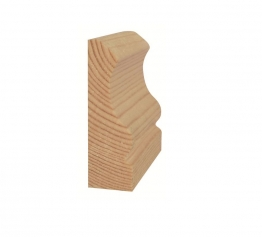 Tp Ogee Standard Architrave 25mm X 75mm X 2100mm
