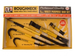 Olympia Tools 5 Piece Roughneck Multi Purpose Wrecking & Pry Bar Set