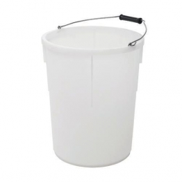 Plasterers Mixing Bucket White 30l