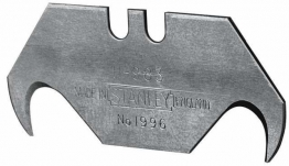 Stanley 1996 Hooked Trimming Knife Blade Pack 5