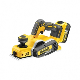 Dewalt Dcp580p2 Planer Cordless Brushless 18v Li-ion 82mm With 2 X 5.0ah Batteries And Carry Case