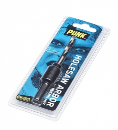 Punk 14mm-30mm Hex Holesaw Arbor 9.5mm