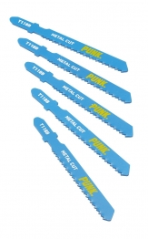 Punk Metal Cutting Jigsaw Blade Pack 5 T118b