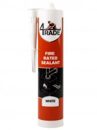 4trade Fire And Acoustic Acrylic Sealant White