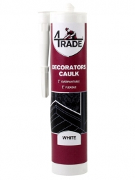 4trade Smooth Versatile Decorators Caulk