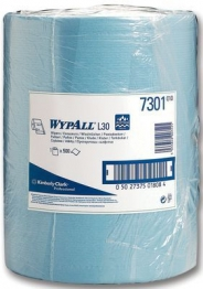 Wypall L30 7300 Wipes Blue Roll 500 Sheet 300mm X 240mm