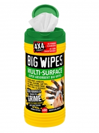 Big Wipes 4x4 Formula Multi-surface Super Absorbent Wipes Biodegradable Wipes
