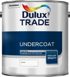 Dulux Trade Undercoat Paint White 2.5l