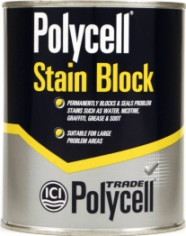 Polycell Trade Stain Block Liquid 1l