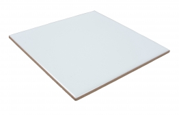 4trade White Tile 150mm X 150mm