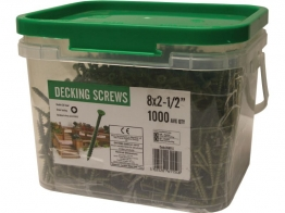 Marshalls Decking Screw 8g X 2.5in 1000 Pieces