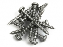 Exterior Tite Screw Silver Csk 4mm X 40mm 200 Pieces