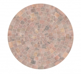Marshalls Drivesett Tegula Circle Traditional Pack 2600mm X 50mm