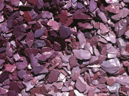Hanson Maxipack Plum Slate Chippings