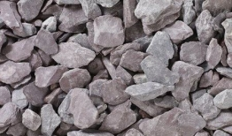Plum Slate Chippings Bulk Bag