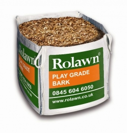 Rolawn Play Grade Bark Bulk Bag 1m³