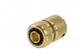 4trade Hose Connector Without Water Stop 13mm