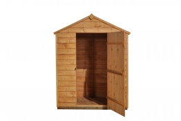 Overlap Dip Treated Apex Shed No Windows 914mm X 1524mm