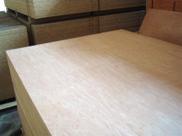 Hardwood Faced Plywood 9mm X 2440mm X 1220mm