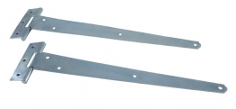 4trade Tee Hinge Light Zinc Plated 300mm Pack Of 2