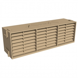 Manthorpe Combination Airbrick Buff 9in X 3in