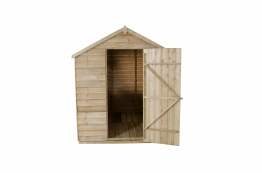 Overlap Pressure Treated Apex Shed 1829mm X 2438mm
