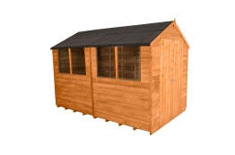 Overlap Dip Treated Apex Shed Double Doors 1829mm X 3048mm