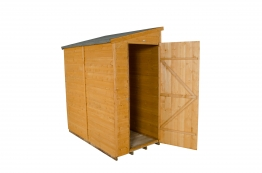 Shiplap Dip Treated Pent Shed 1829mm X 914mm