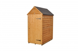 Overlap Dip Treated Apex Shed No Windows 1524mm X 914mm