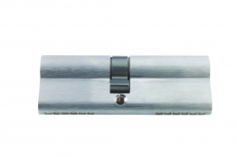 4trade Double Cylinder Euro Profile Satin 40mm X 45mm