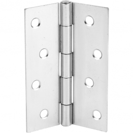 Door Butt Hinges Polished Chrome 75mm Pack Of 2