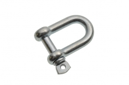 4trade Dee Shackle 6mm Bright Zinc Plated (pack Of 1)