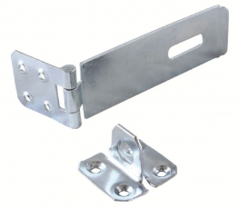 4trade Safety Hasp & Staple Galvanised 75mm